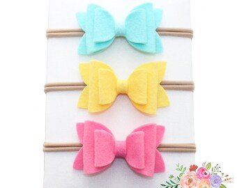 Double Layer Bow Headband