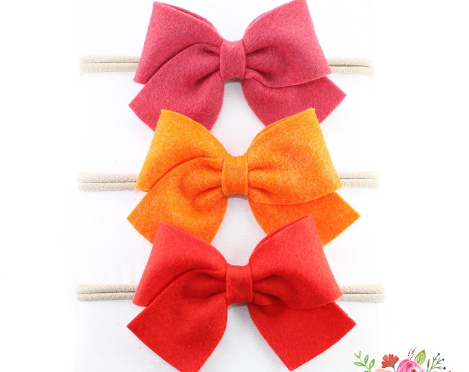 Featured listing image: Sailor Bow Headband Package #12