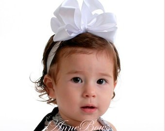 Baby Headbands | Baby headband | Baby Girl Headband | Christening Headbands | Baptism Headband | Baby Headbands and bows | Bow Headbands