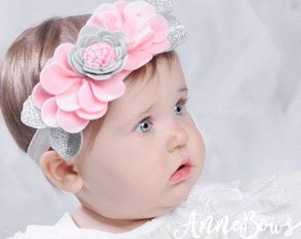 Baby Headband | Felt Headband | Infant Headband | Headband | Baby Headband | Toddler Headband | Headbands | Felt headbands | Bows | Flower