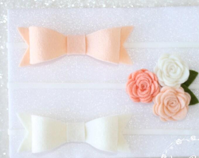 Baby Headbands | Baby Girl Headbands | Nylon | Infant Headband | Baby Headband | | Newborn Headbands Baby headbands and bows | set