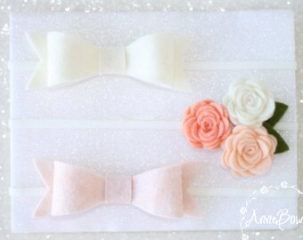 Bows and Flowers Set