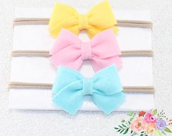 Baby Headband. Hair Bow. Hair Clip. Bow Headband. Headband. Infant Headband. Baby Bows. Bow Headbands. Nylon Headband, Headband Set. Bows.