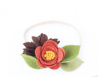 Nylon Headbands. Baby Headbands. Nylon. Headbands. Infant Headbands. Flower Headband. Crown Flower Headband. Felt Headbands. Headbands