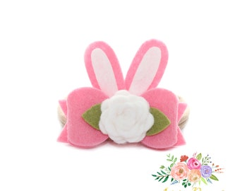Baby Pink small flowers headband