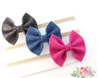 Baby headbands, Baby girl headband, baby nylon headband, baby gift, baby gir