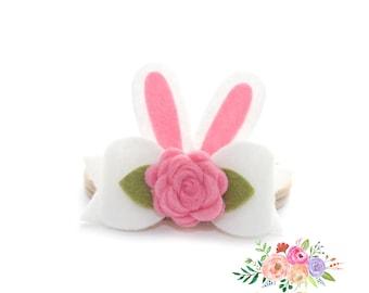 Baby Pink Flower Headband