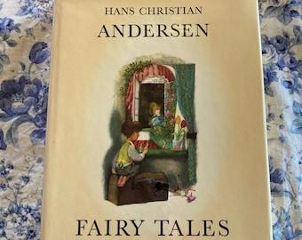 Hans Christian Andersen Fairy Tales, illustrated by Jiri Trnka, Vintage Hardcover Book, 1967