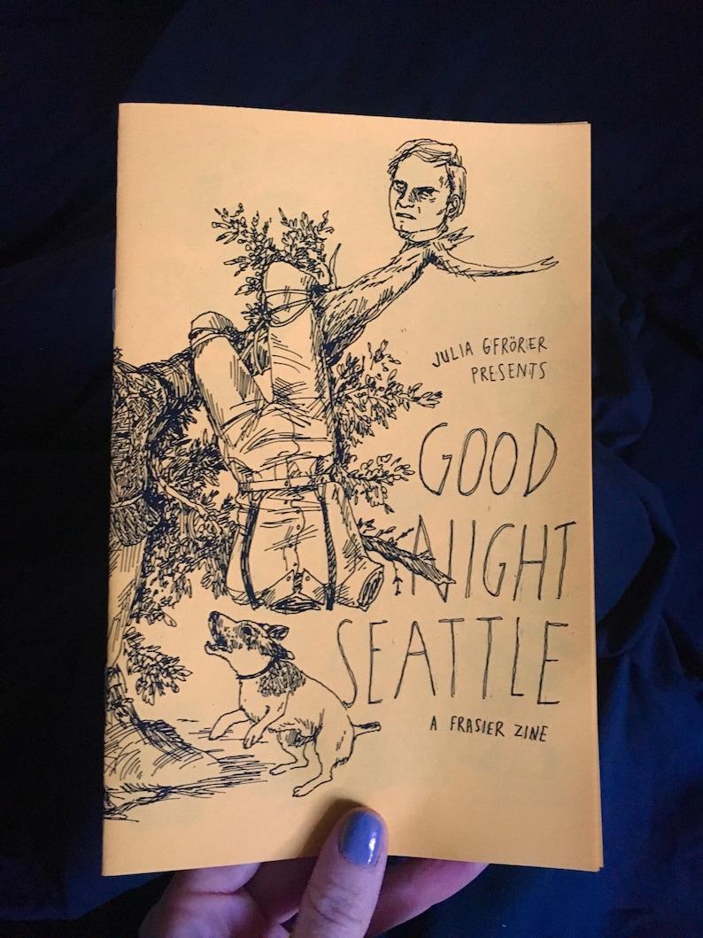 Goodnight Seattle Frasier minicomic zine image 0