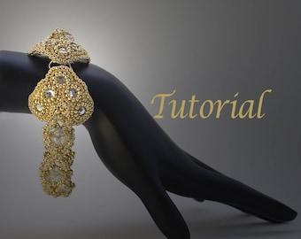 Ice Queen Beaded Bracelet Pattern (includes clasp pattern) Digital Download