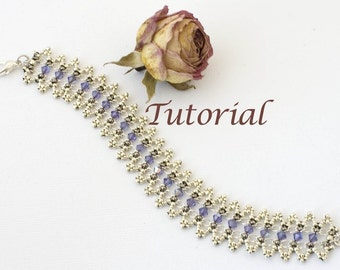 Beaded Bracelet Tutorial Elizabethan Elegance Digital Download