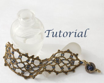 Beaded Bracelet Tutorial Lacy Lapis Digital Download