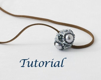 Beaded Bead Tutorial Geode (Advanced) Digital Download