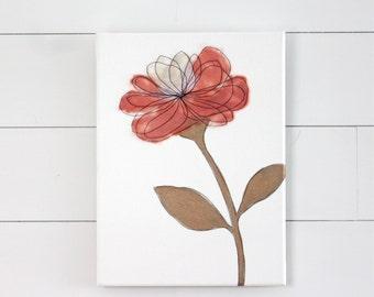 Nursery Art - Coral
