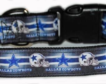 Dallas Cowboys NFL Dog Collar