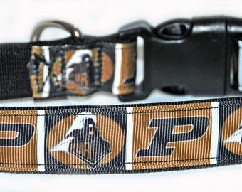 Purdue University Dog Collar