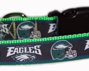 Philadelphia Eagles NFL Dog Collar