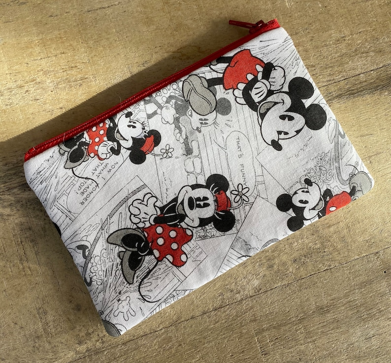 small cell phone change purse graphic mickey image 0