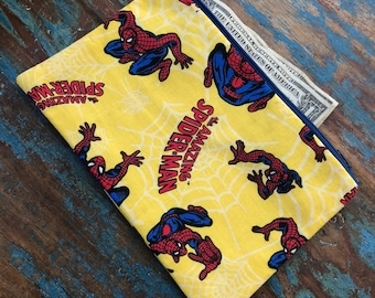 medium zipper pouch Spiderman