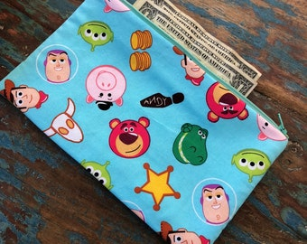 medium zipper pouch toy story