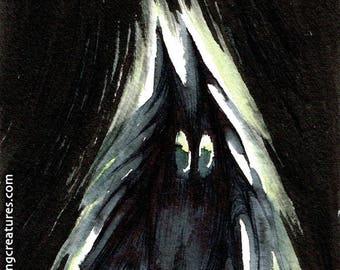 Feeping Creatures monster art - Fluffy Ghost