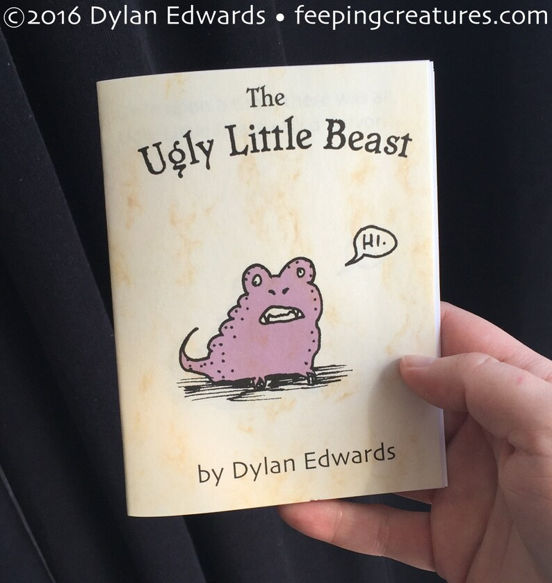 Ugly Little Beast minicomic  Feeping Creatures all-ages comic image 0