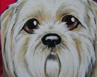Custom Pet Painting Portrait 5x7
