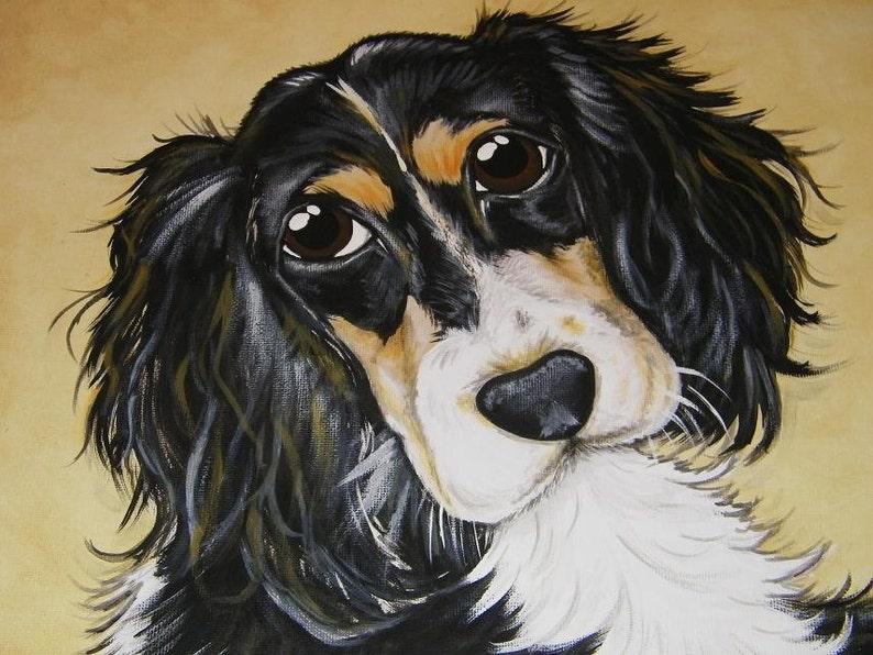 pet loss pet memorial cat gift CUSTOM Painted Pet Portrait 11x14 Dog Painting pet lover