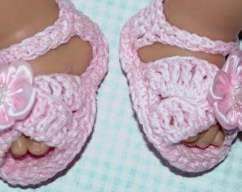 f65855ccd59caf Cheryl s Crochet CC21c Baby CrissCross Sandals PDF Download Crochet Pattern