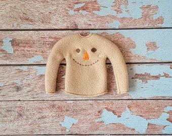 Elf Clothes - Scarecrow Sweater, Halloween Sweater, Elf Halloween, Elf clothes, Christmas Elf, Scout Elf, Original Elf or Plush Elf