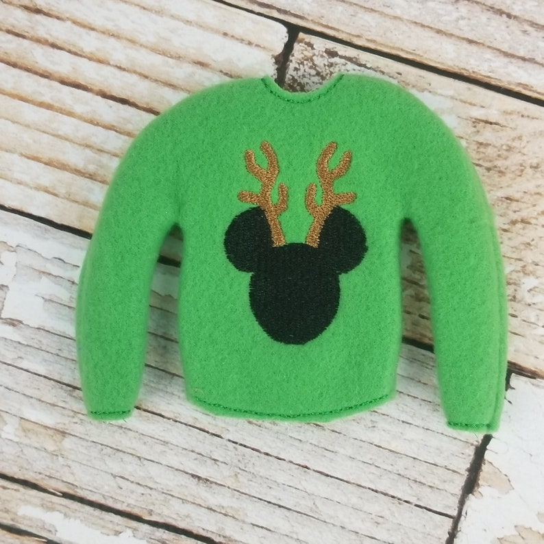 Mouse Sweater Elf Sweater Elf clothes Elf attire image 0
