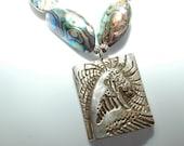 Japanese wave necklace