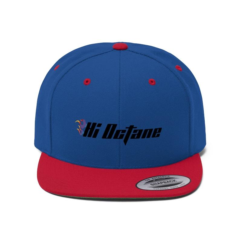 Hi Octane Rev'd Up Flat Bill Net Back Hat image 0