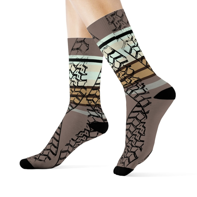 Burnout Desert Crew Socks image 0