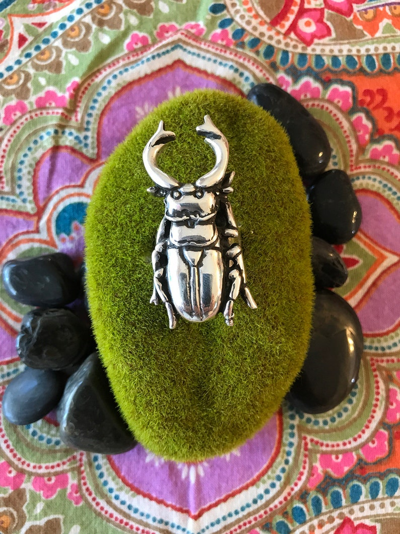 Stag Beetle Ring image 0