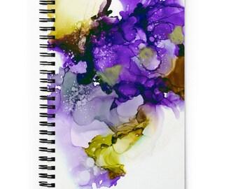 Abstract Art Spiral notebook, Bullet Journal, Note Taking, Teacher Gift