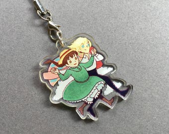 """Howl and Sophie 1.5"""" Double-Sided Acrylic Charm"""