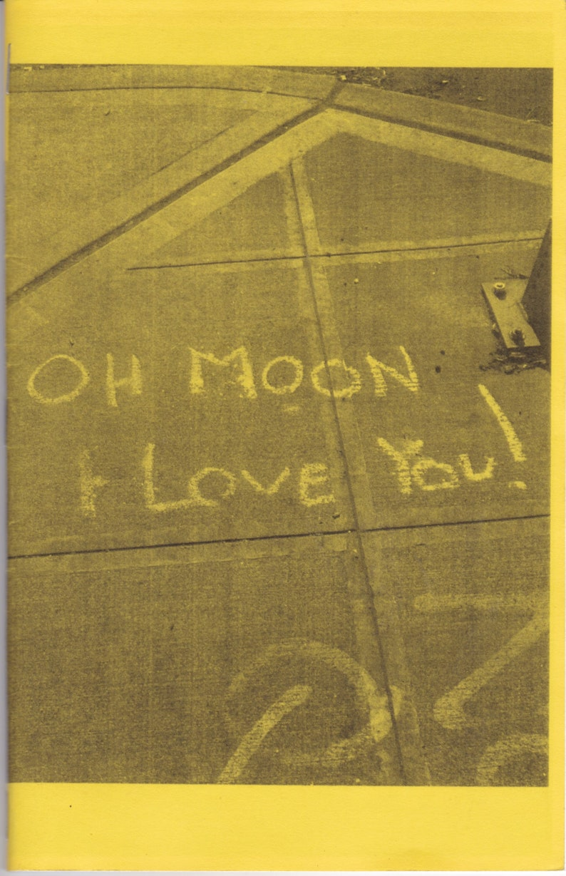 Oh Moon I Love You: Graffiti Zine 2 image 0