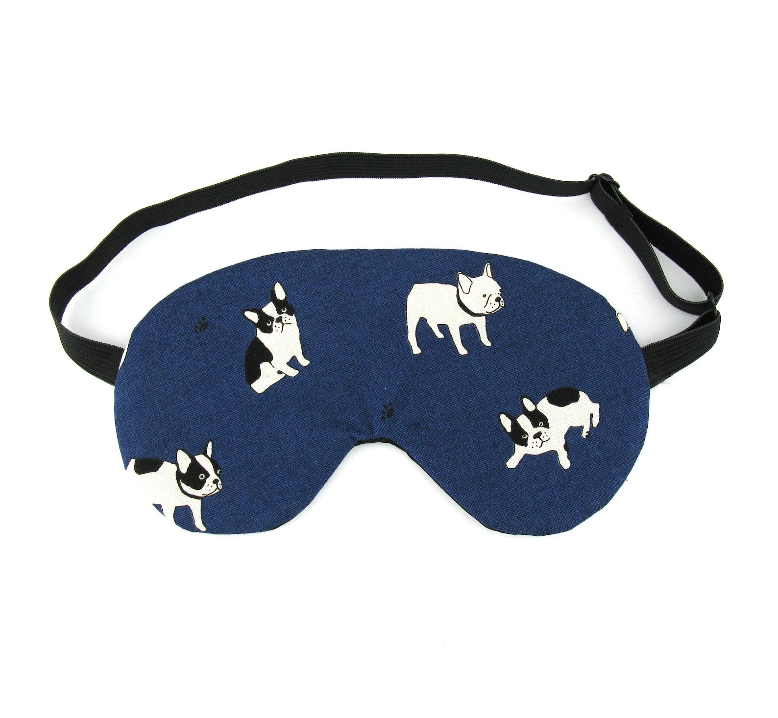 French Bulldog Sleep Eye Mask