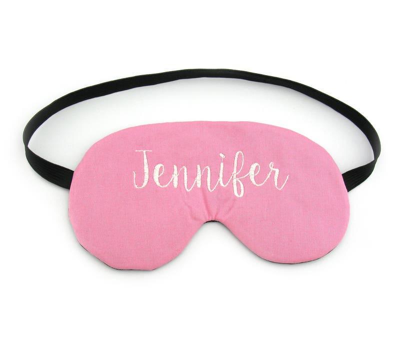 Personalised Name Custom Sleep Eye Mask Sleeping Travel Mask Party Favour Travel Gift