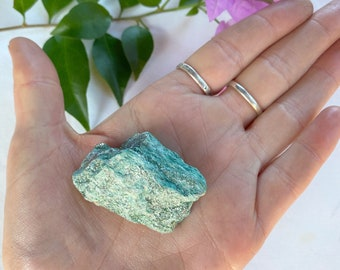 SHINY natural Fuchsite crystal chunk