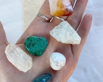 Gemini Birthstone Crystal Set