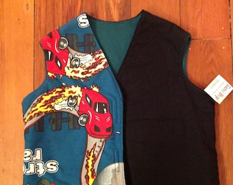 Samibop Reversible Vest - Size 1 and 2 (1T and 2T)
