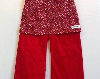 Pantskirt Japanese Diaper Pants. Skants Skirt Pants 063---Gambiered Canton Silk Gauze Harem Pants Watered Gauze Thai Pants
