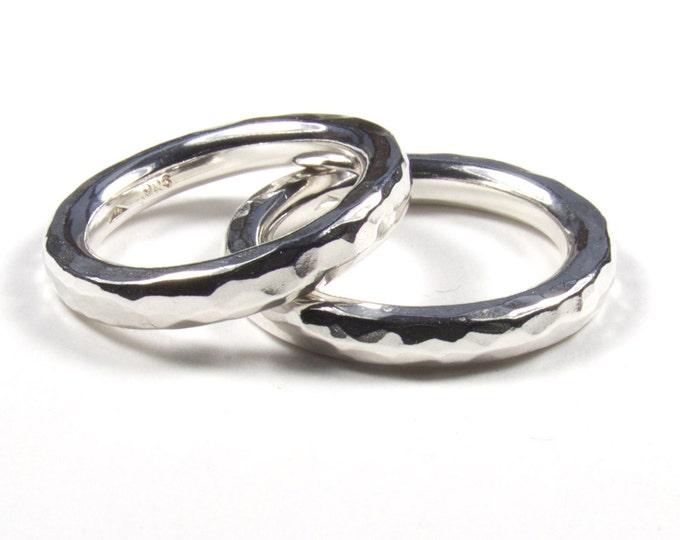 Matching 3mm Wedding Rings