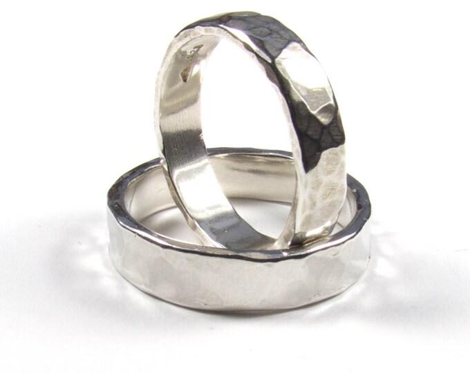 5mm Matching Wedding Rings