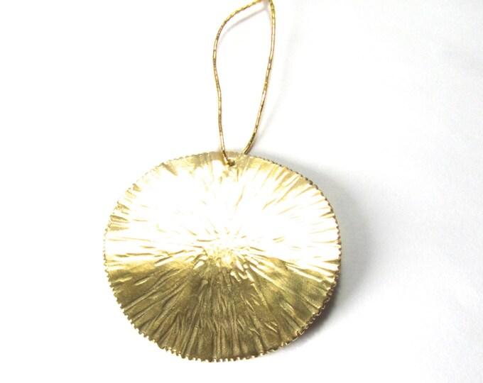 Christmas Tree Sun Ornament, Hand Made Tree Ornament, Festive Ornament,