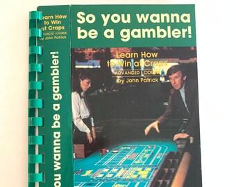 Gambling VHS Notebook Handmade. Handemade VHS Notebook Gambler 80s. So you want to be a gambler