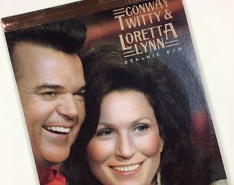 Vintage Loretta Lynn Notebook. Upcycled Record Book. Handmade Country Music notebook. Upcycled Loretta Lynn Record. Country Music Gift.