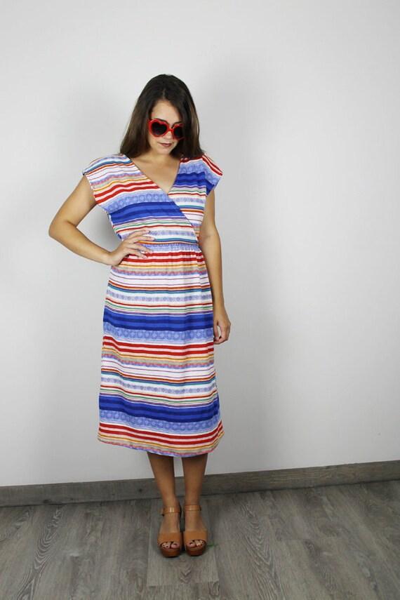 Womens Wrap dress Womens Mexican Blanket Dress Womens  22b829fb31